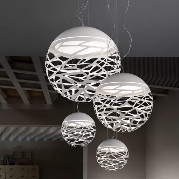 suspension kelly sphere studio italia del éclairage grenoble